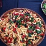 Mediterranean Pasta Salad With Basil
