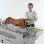 Spittingmn Pig Lincolnshire Chef