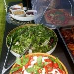Home Made Salads To Accompany The Hog Roast