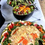 Selection Of Freshly Prepared Salads