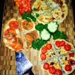 Homemade Vegetarian Option - Spanish Quiche